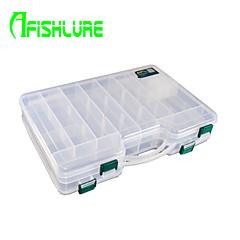 afishlure kaksinkertainen avoin kahden hengen puolella kannettava tapauksessa kalastusvälineet laatikot houkutella laatikko 1 tarjotin