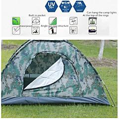 Tenda ( Camuflagem , 3-4 Pessoas ) -Á Prova de Humidade / Prova de Água / Respirabilidade / Insulação de Calor / Resistente Raios