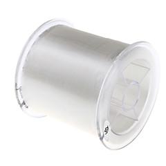 500M / 550 Yards Monofilamento Transparente 12lb 0.285 mm ParaPesca de Mar / Pesca Voadora / Isco de Arremesso / Pesca no Gelo / Rotação