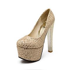Women's / Girl's Wedding Shoes Heels Heels Wedding / Office & Career / Party & Evening / Dress Silver / Gold