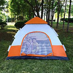 Other 3-4 persons Tent Automatic Tent One Room Camping Tent >3000mm Fiberglass Nylon OxfordMoistureproof/Moisture Permeability Waterproof