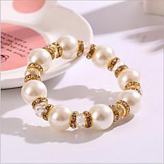 Women's Strand Bracelet Imitation Pearl Crystal / Imitation Pearl / Rhinestone