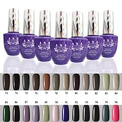 1 stuks ana 192 kleuren gelpolish nail art losweken uv nagel gel polish 15ml 73-96