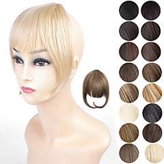 Ty.hermenlisa Clip in Hair Bang Synthetic Heat Resistant Fiber Fringe Hair Extensions Hairpieces,1 Pc,20g