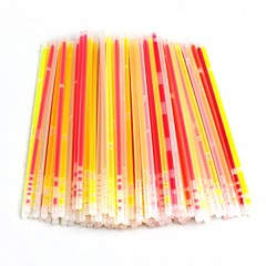 DIY glowstick発光光のブレスレット100個