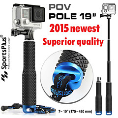 Gopro Accessories Telescopic Pole / Monopod / Hand Grips/Finger Grooves / Mount/HolderFor-Action Camera,Gopro Hero1 / Gopro Hero 2 /