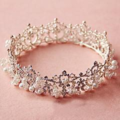 Dame Rhinestone / Legering / Imitert Perle Headpiece-Bryllup / Spesiell Leilighet Diademer 1 Deler