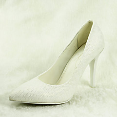 Women's Wedding Shoes Heels / Pointed Toe Heels Wedding / Dress White