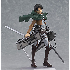 Anime Action Figures geinspireerd door Attack on Titan Eren Jager PVC 14 CM Modelspeelgoed Speelgoedpop