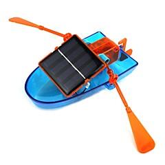 צעצוע DIY ספינת קאנו הרכבת סולארי