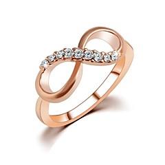 נשים טבעות רצועה תכשיטים זירקון אינסוף תכשיטים עבור חתונה Party יומי קזו'אל