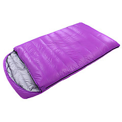 Sleeping Bag Double Wide Bag Double -10℃ Duck Down 1800g 210X120 Indoor KEEP WARM / Oversized CAMEL