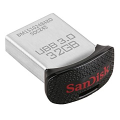 sandisk ultra fit 32GB USB 3.0 flash-enheten (sdcz43-032g-gam46)