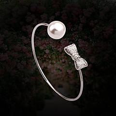 Náramky Dámské Řetěz Slitina Imitace perly / imitace drahokamu