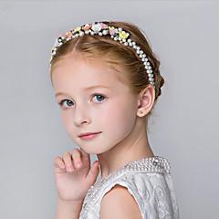 Flower Girl's Imitation Pearl / Resin Headpiece - Wedding / Special Occasion / Outdoor Headbands