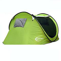 KEUMER 3-4人 テント 1つのルーム キャンプテント 抗虫 超軽量(UL)グリーン レッド ピンク ゴールド ロイヤルブルー スカイブルー