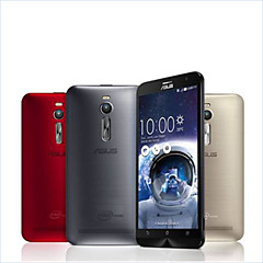 """Asus ASUS ZenFone 2 5.5 """" Android 5.0 Smartphone 4G ( Chip Duplo Quad Core 13 MP 4GB + 32 GB Dourado / Vermelho / Prateado )"""