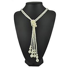 Women's Imitation Pearl Necklace Anniversary / Gift / Causal / Office & Career / Outdoor Imitation Pearl