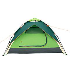 """Makino 3-4 אנשים אוהל משולש חדר אחד קמפינג אוהל 2000-3000 מ""""מ סיבי זכוכית פוליאסטרעמיד למים נשימה מוגן מגשם עמיד לאבק נגד חרקים עמיד ברוח"""