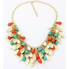 Dames Verklaring Kettingen Parelketting Parel Legering Modieus Opvallende sieraden leuke Style Europees Kostuum juwelen Sieraden Voor
