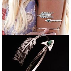 Kroppsmykker Armbånd Unikt design Mote Smykker Fjær påfugl Sølv Smykker Julegaver 1 stk
