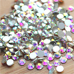 -Finger / Zehe-Andere Dekorationen-Andere-1pack (approx.1000pcs) AB Nail rhinestonesStück -1.4mm,1.6mm,1.8mmcm