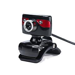 Cameră Web-OEM-A886-LED vedere nocturnă / Microfon Încorporat / HD Video Calling / Flexibil / Skype-10-640 x 480-Noutate