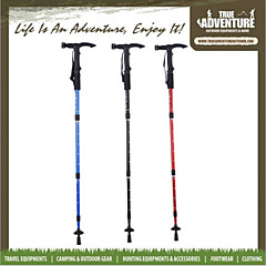 Alloy Suspension T Handle Outdoor Lighting Illuminated Alpenstock Cane Can be Telescopic