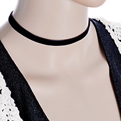 Women's Black Velvet Choker Necklace Anniversary / Daily / Special Occasion / Office & Career