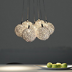 Max 20W Vedhæng Lys ,  Moderne / Nutidig Galvaniseret Feature for Ministil Metal Stue / Soveværelse / Spisestue