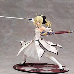 Fate/Stay Night Saber 23CM Anime Action Figurer Modell Leker Doll Toy