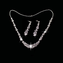 Jewelry Set Women's Anniversary / Wedding / Birthday / Gift / Party / Daily / Special Occasion Jewelry Sets Alloy / Rhinestone Rhinestone