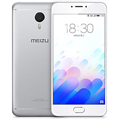 "MEIZU Meizu m3 note 5.5 "" 5.1 Android טלפון חכם 4G (SIM כפול Octa Core 13 MP 2GB + 16 GB אפור / כסף)"