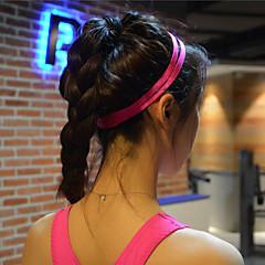 ספורט להקות שיער יוגה גברי נשי סרט למגן זיעת גומי אלסטי נגד חלקת אופני ריצת כדורגל יוגה