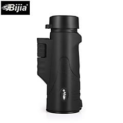 BIJIA 10 42 mm Monokulár HD BAK4 Vysoké rozlišení / Spotting Scope / Noční vidění / Voděodolný / Generic / Střešní Prism # #Centrální