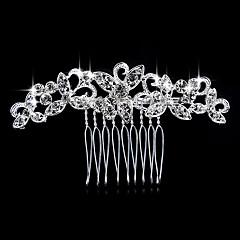 Γυναικείο Μαργαριταρένια Στρας Κρυστάλλινο Κράμα Headpiece-Γάμος Ειδική Περίσταση Καθημερινά Χτενιές Μαλλιών 1 Τεμάχιο