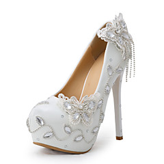 Women's Shoes Stiletto Heel Heels Heels Wedding / Party & Evening / Dress White