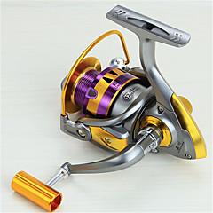 Molinetes Rotativos 5.5:1 12 Rolamentos Trocável Pesca de Mar Rotação Pesca de Água Doce Pesca Geral-HB3000