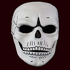マスク ゴースト / モンスター イベント/ホリデー ハロウィーンコスチューム ホワイト プリント マスク ハロウィーン 男女兼用