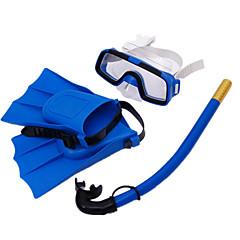 Kit para Snorkel Kits para Snorkeling Fins de Mergulho Máscaras de mergulho Snorkels Máscara de Mergulho Mergulho e Snorkeling Natação