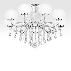 SL® Kronleuchter Kristall Luxus-moderne Wohn 9 Leuchten