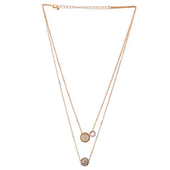 LGSP Women's Alloy Necklace Daily Rhinestone-61161035