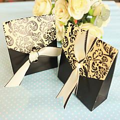 Geschenkboxen / Geschenk Schachteln(Schwarz,Kartonpapier) -Nicht personalisiert-Hochzeit / Jubliläum / Brautparty / Babyparty /