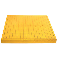 """המלוכה st. 32 מ""""מ עץ דגי לוח השחמט סיני דו-צדדי דו-שימושי ללכת צלחת החליפה ללכת + יחיד ענן / פחיות שיזף משותפות"""
