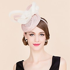 Dame / Blomsterpige Linfrø / Silke Headpiece-Bryllup / Spesiell Leilighet / Avslappet Hatter 1 Deler