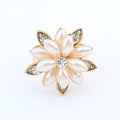 Exquisite Fashion Snow Lotus Ring