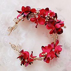 Women's Brass / Fabric Headpiece-Wedding / Special Occasion / Outdoor Headbands 1 Piece