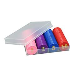 Royal St chip de cola moeda terno 160 peças de caixas de plástico de cor de entretenimento doméstico hot stamping