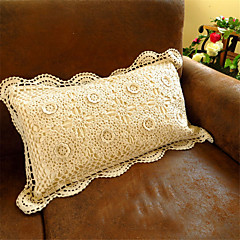 Shabby Chic Hand Made Embroidery Home Decor Cushion Cotton Pillow Sofa Wedding Decorative Throw Pillow