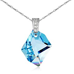 Thousands of colors  Women's Alloy Necklace Daily Crystal-1-1031